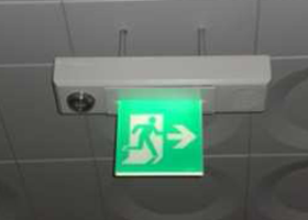 Multi-Purpose Emergency Exit Sign
